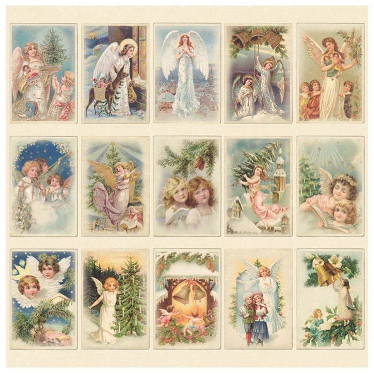 pion design paper christmas angels images from the past