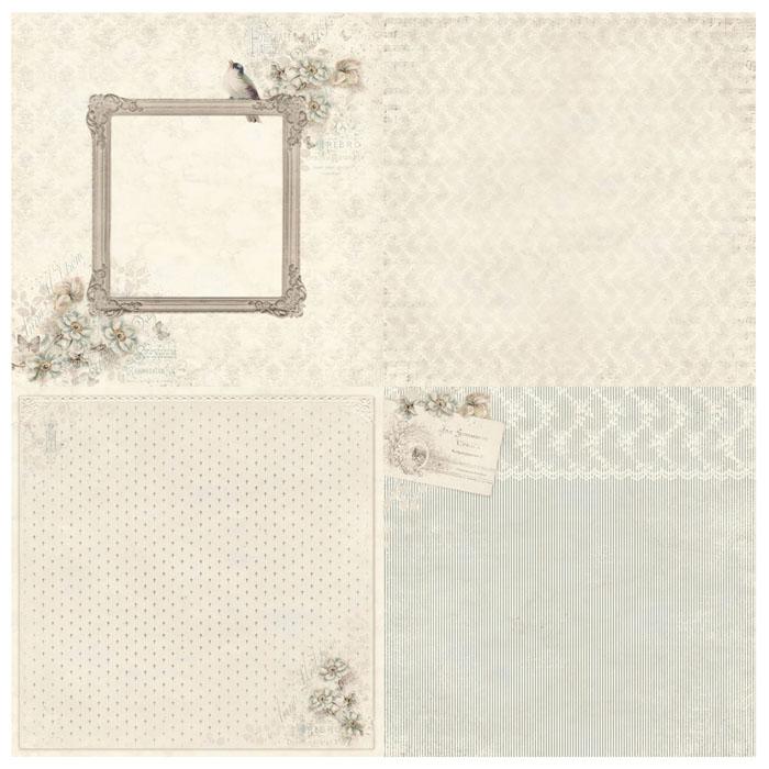 Pion Design Paper - Photo Frame & Anemone - Studio of Memories 6x6 in