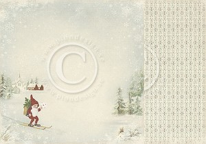Pion Design Paper - Nisse - Winter Time in Swedish Lapland