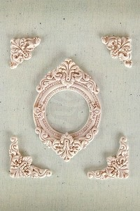 Prima Marketing - Shabby Chic Resin Treasures - Marvelle