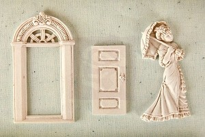 Prima Marketing - Shabby Chic Resin Treasures - Parlor