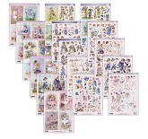 Crafters Companion - Paintbox Poppets Die-Cut Decoupage